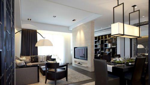 低调人生的华丽转变105平现代居室