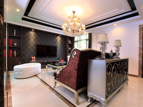 新古典主义别墅空间在喧嚣里尊享宁静
