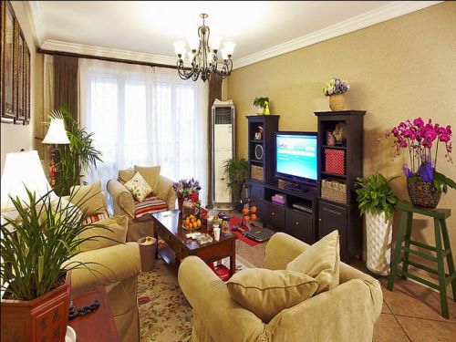 打造无与伦比住房体验现代美式四居室