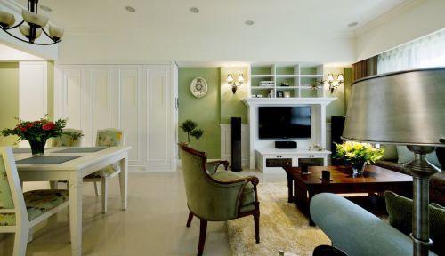99平米温馨美式两居公寓