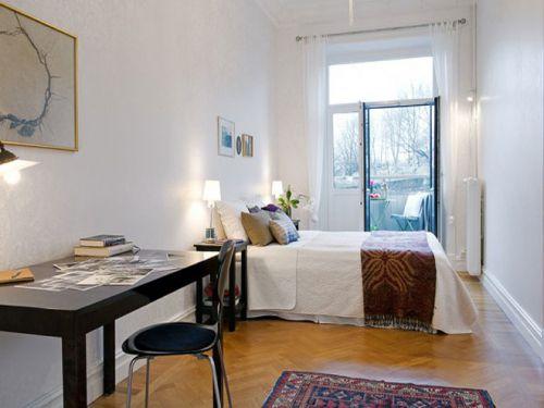 93平米的白色精致公寓
