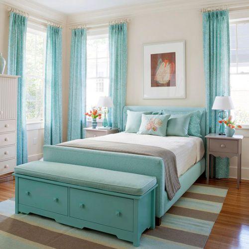 蓝色的秘密 简欧风格两居室