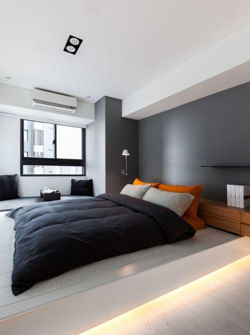 素朴空间简单美 50平米白色精品小公寓