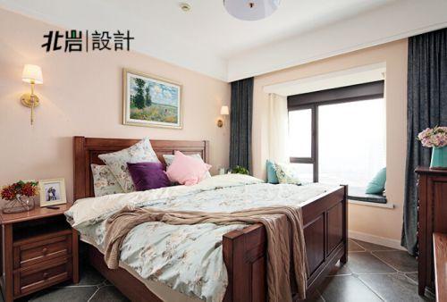 扩大空间感 120平米美式两室两厅