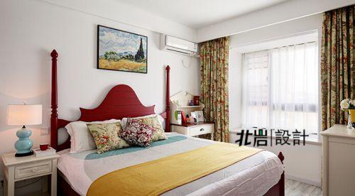 清浅时光 90平米清新美式两室两厅装修效