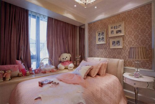 140平三居室美式风格