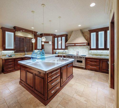 简洁美式风格厨房橱柜图片赏析