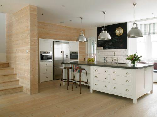 美式风格简洁厨房橱柜图片赏析
