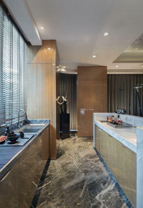 现代简洁厨房橱柜设计欣赏