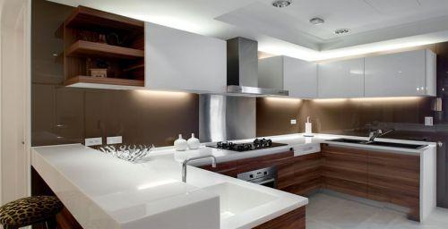 时尚大气现代风格厨房橱柜设计欣赏