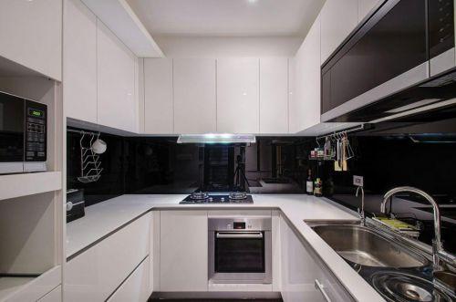 现代质感风格厨房橱柜设计欣赏