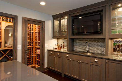现代都市时尚厨房橱柜装修设计