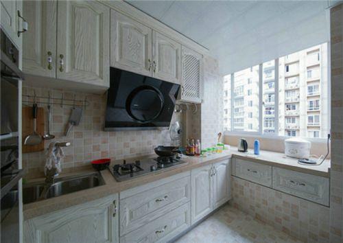 实用精致简欧风格厨房橱柜设计欣赏