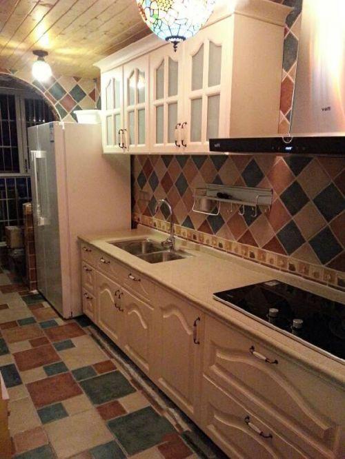 田园厨房橱柜图片赏析