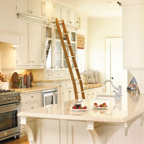 2016田园风格厨房橱柜装潢设计