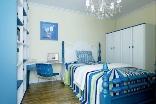 地中海风格浪漫蓝色儿童房装饰设计