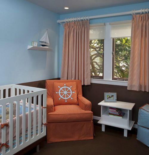 地中海浪漫风格儿童房设计装潢