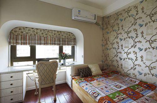 白色浪漫地中海风格儿童房装修图片