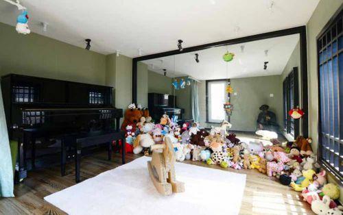 优雅大气新中式儿童房布置设计