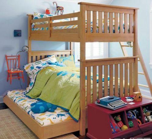 可爱趣味混搭风格儿童房装修