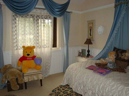 时尚简欧风格可爱儿童房设计