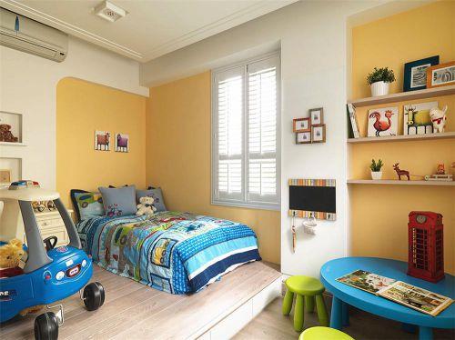 2016创意童趣米色简欧儿童房效果图设计