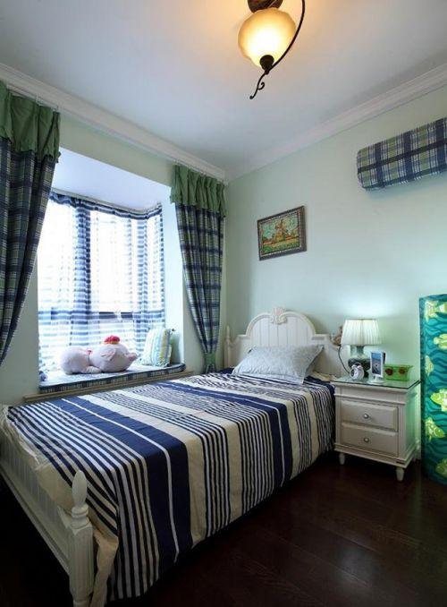白色清新简欧风格儿童房设计欣赏