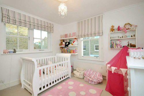 清新甜美简欧风格儿童房设计