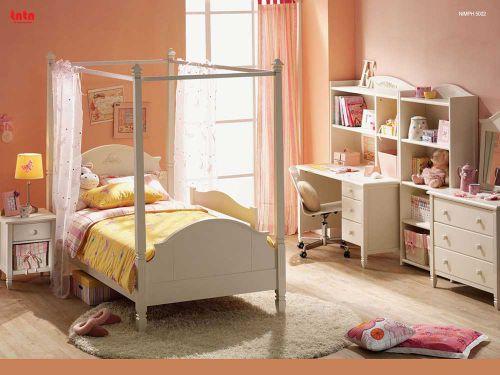 简欧风格浪漫轻甜儿童房布置装潢
