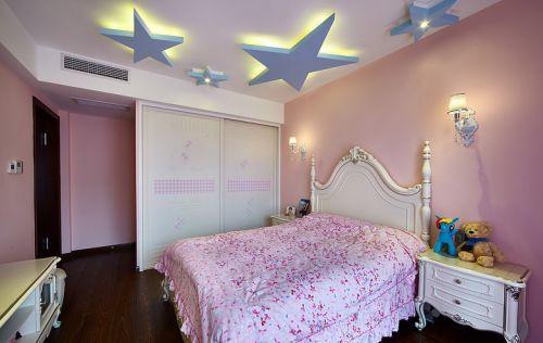 粉色浪漫简欧风儿童房设计赏析