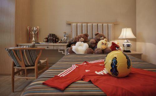 新古典风格素雅米色儿童房装饰案例