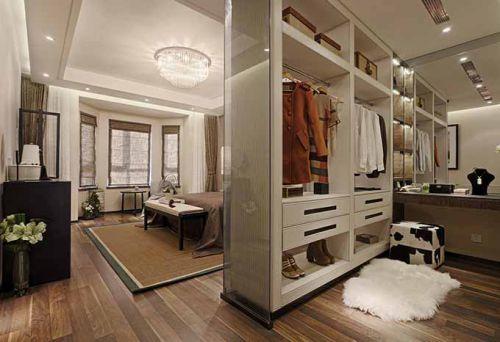 新古典主义风格衣帽间装潢设计