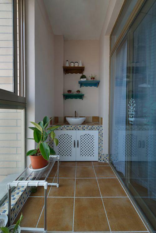 休闲地中海风格阳台装修图片