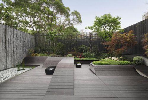 混搭风格灰色阳台装修设计