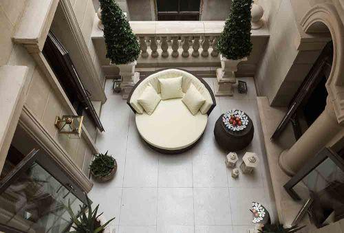 新古典气质优雅阳台装潢设计