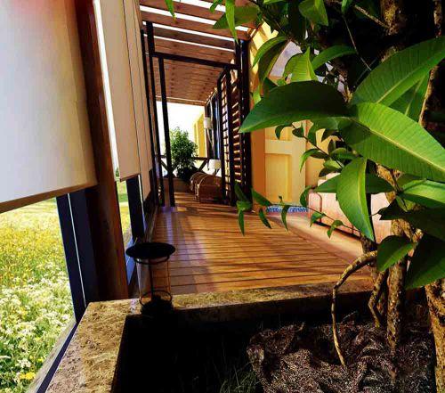 东南亚元素阳台精美装潢设计欣赏