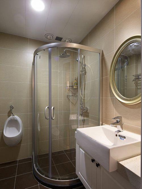 美式家装简约风格卫生间装修