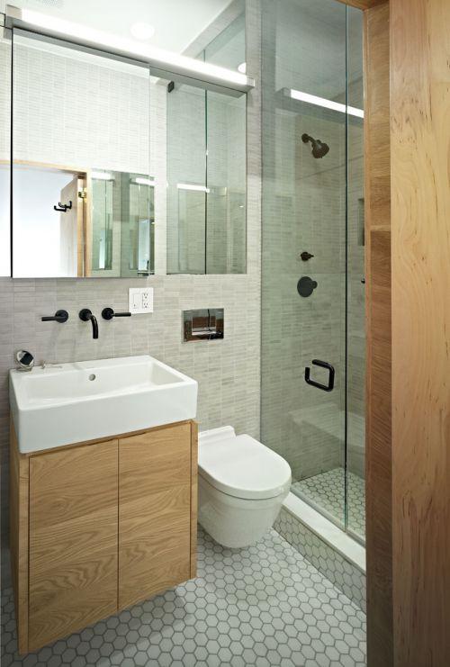 简约舒适卫生间装潢案例