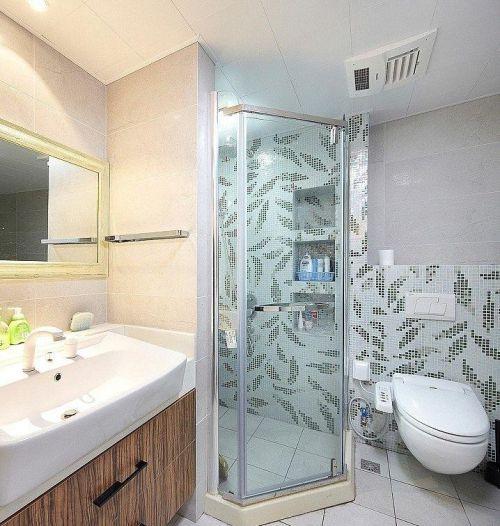 简约创意精致卫生间装修图片