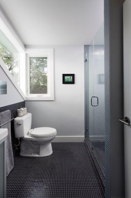 简约风格清新白色卫生间美图欣赏