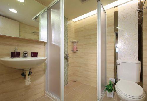 简约清爽实用卫生间装潢设计
