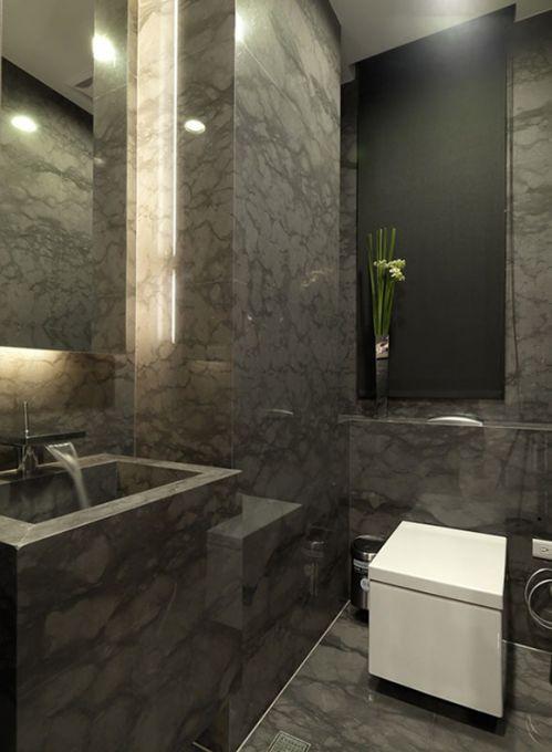 简欧风格家居卫生间设计装饰效果图