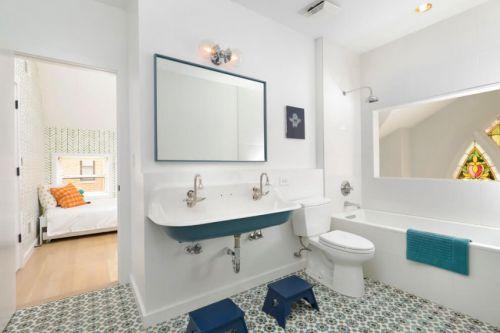 2016白色简约风格卫生间装修设计