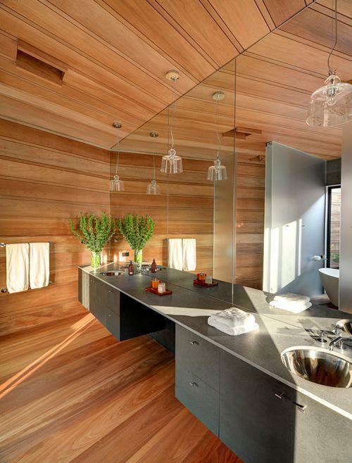 质朴简约风格卫生间设计案例