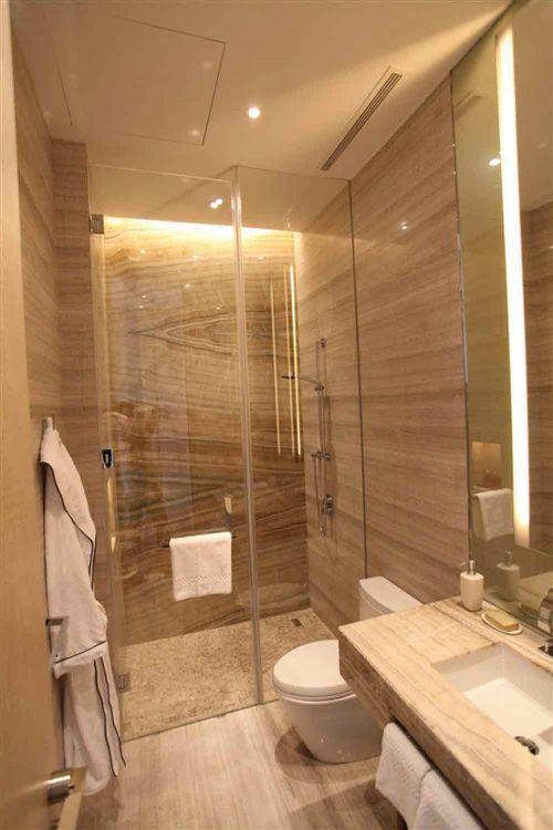 简约风格酒店式卫生间设计