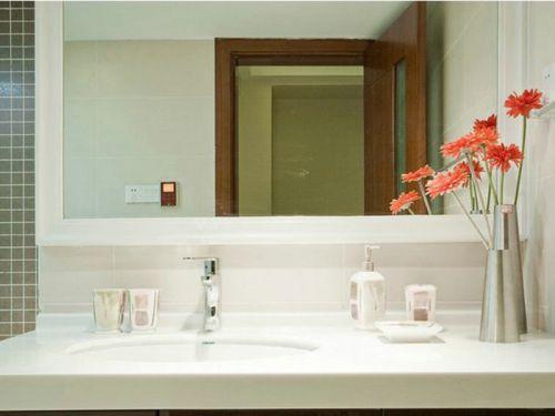 自然简约风格卫生间装修设计