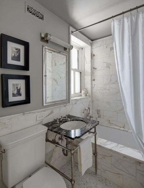 时尚大理石创意简约卫生间美图赏析