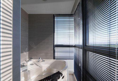 简约风格灰色质感卫生间装修布置