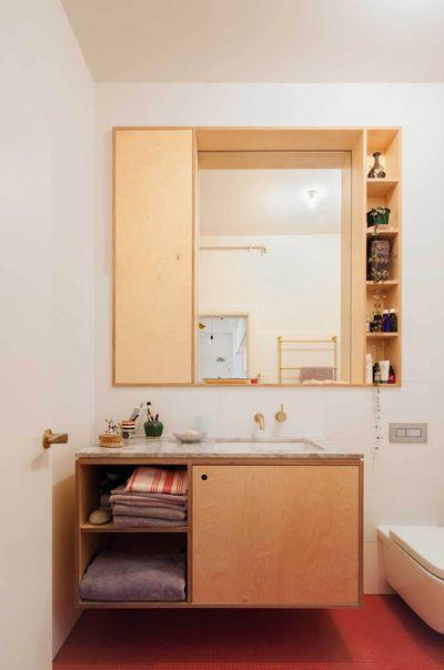 米色简约风格卫生间设计案例