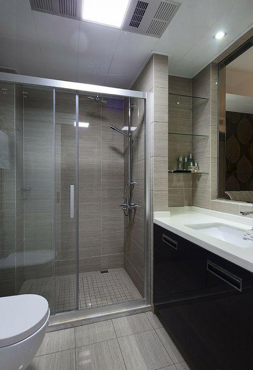 简约风格灰色卫生间设计装潢
